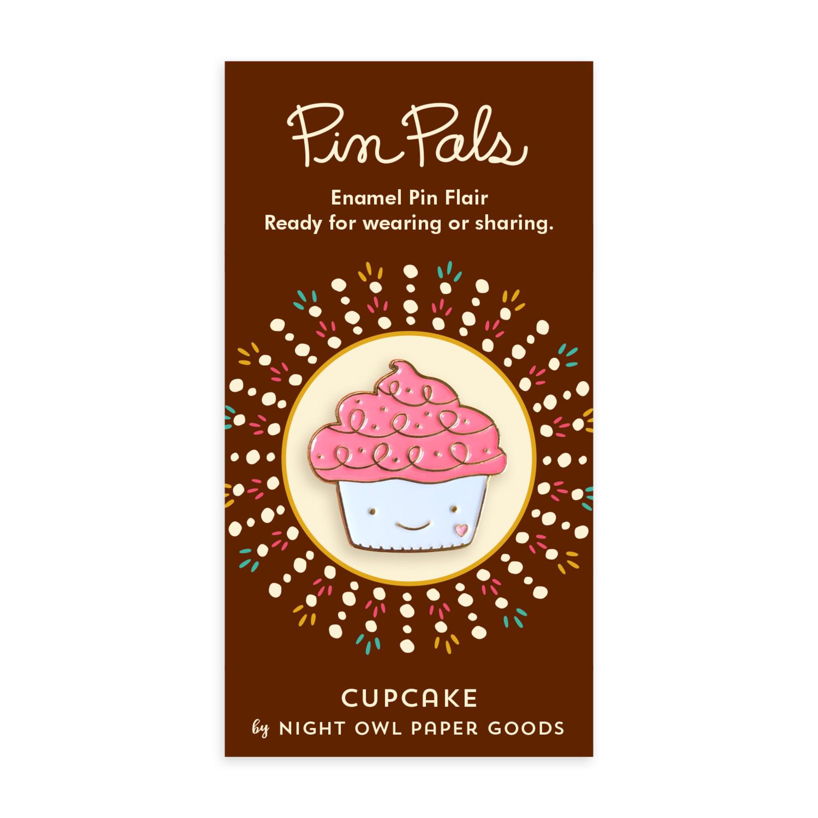 Sweet Cupcake Enamel Pin