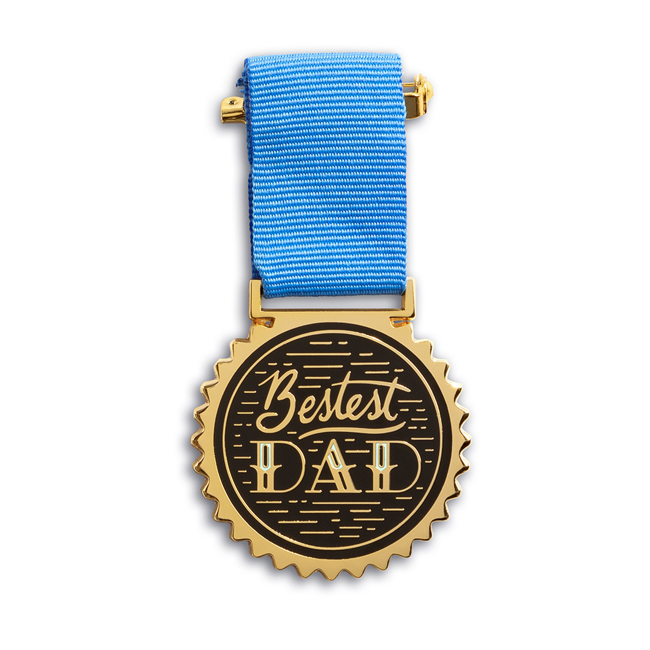 Bestest Dad Medal