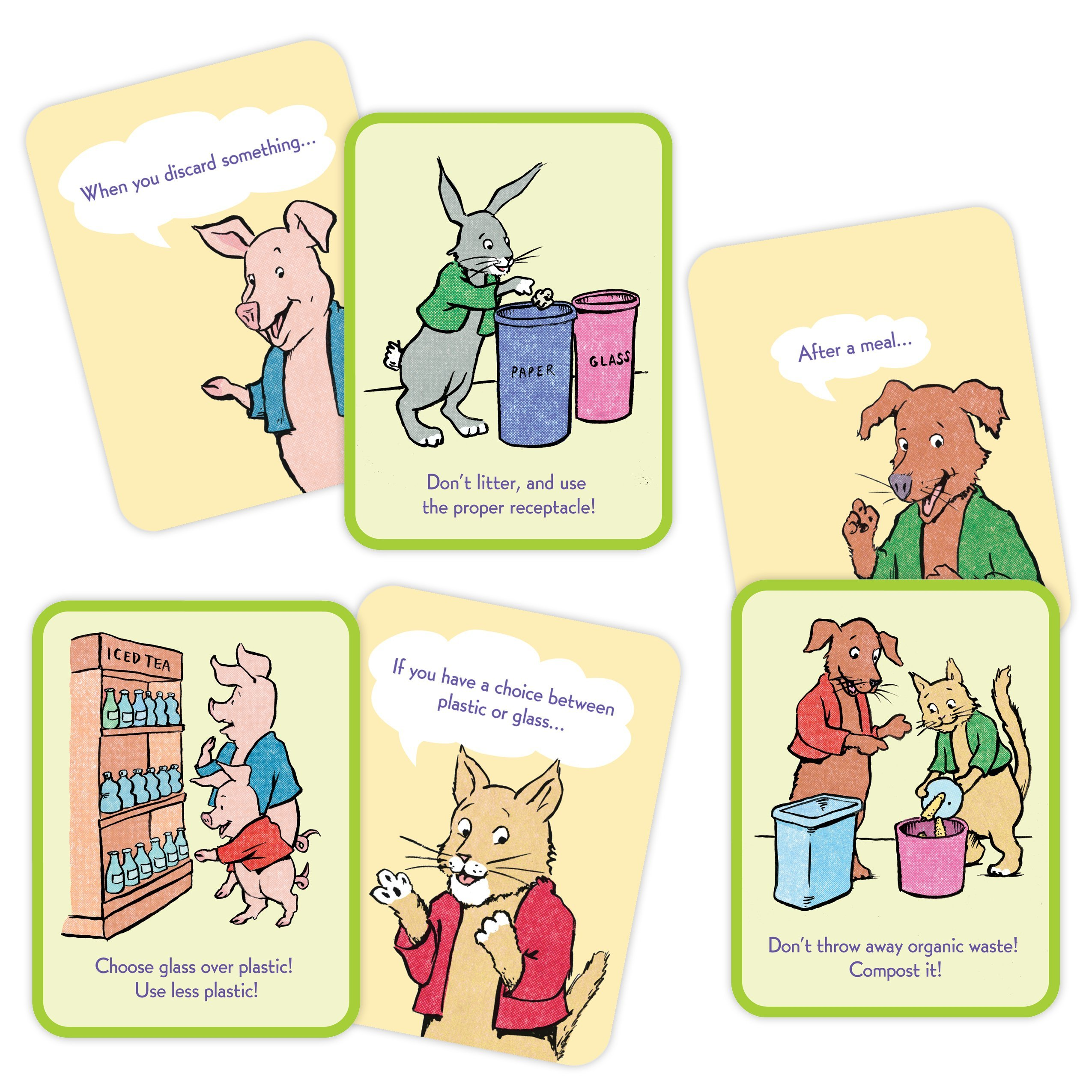 Examples of Respect The Earth Conversation Cards