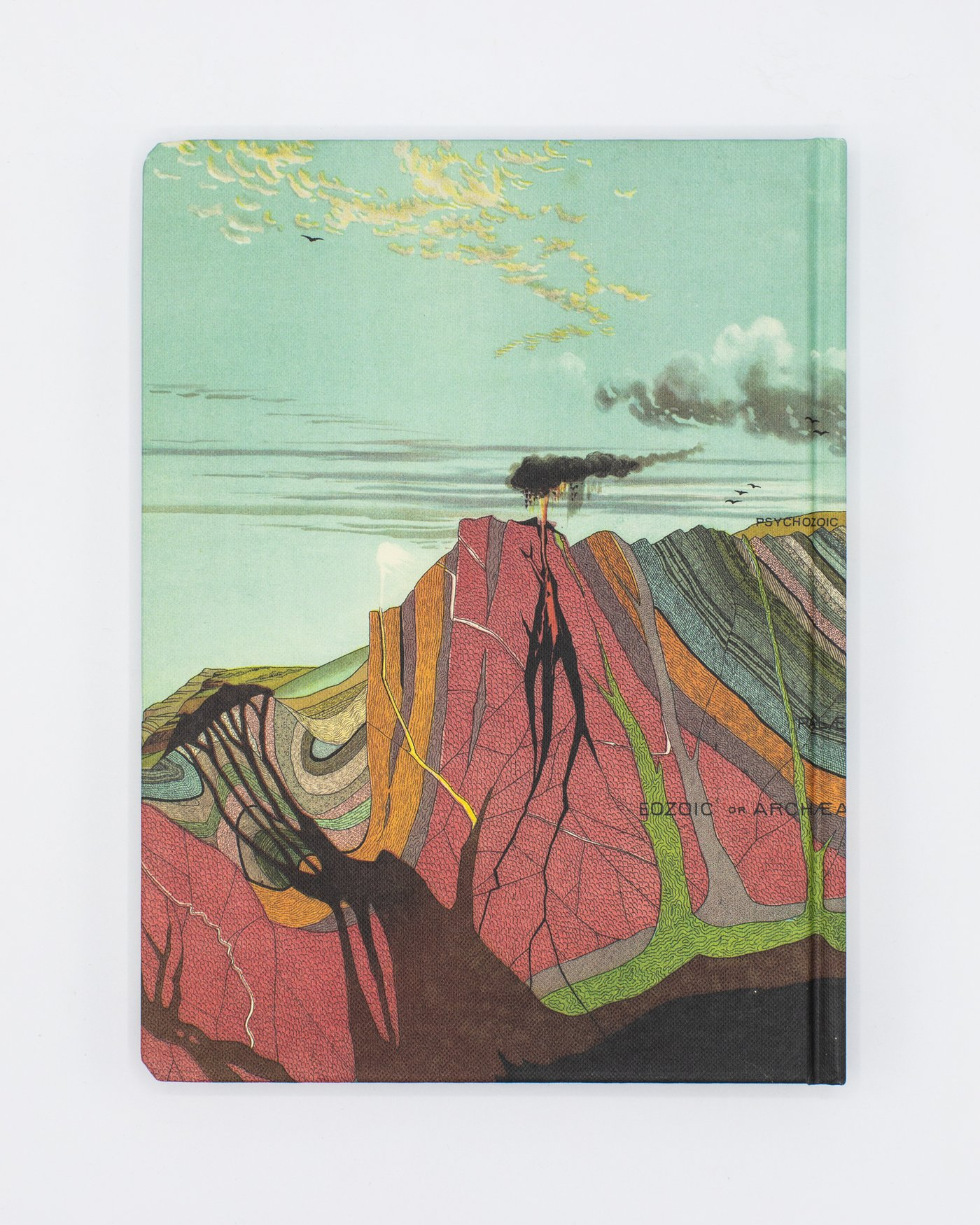 Back cover of Earth's Geology Notebook