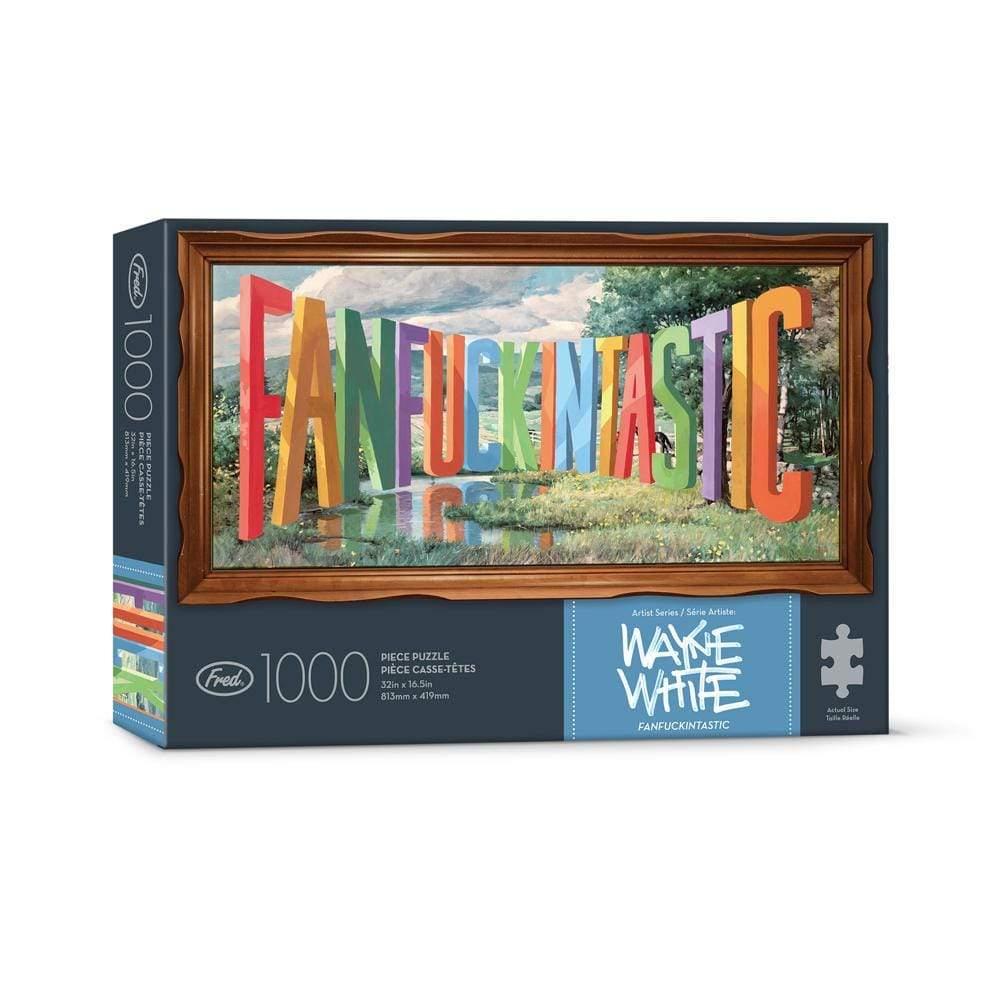 Fanfuckingtastic 1000 Piece Puzzle in box