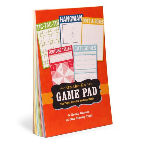 On The Go Games Notepad