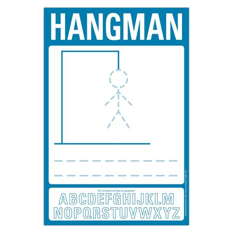 Pad includes Hangman