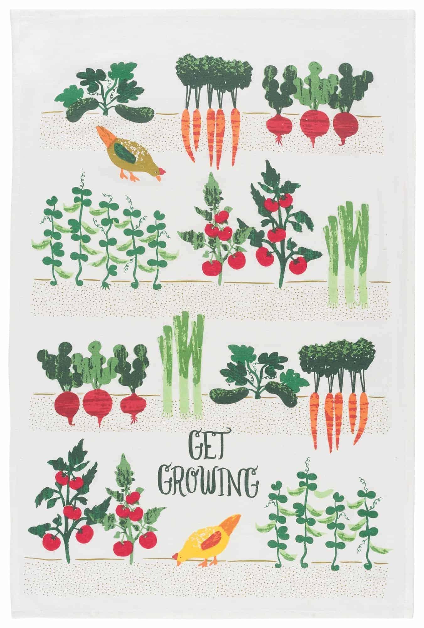 Get Growing Dishtowel