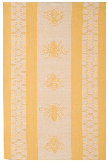Honeybees Jacquard Dishtowel