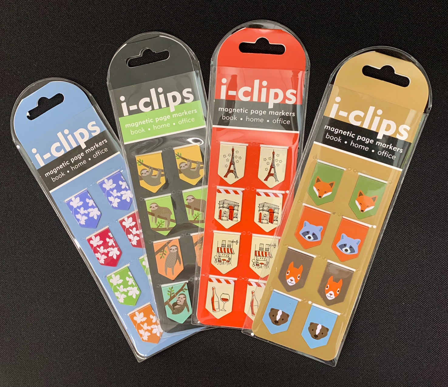 4 i-clips Magnetic Page Markers