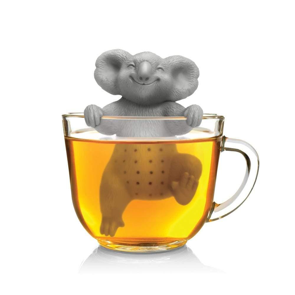 Koala Tea Infuser in action