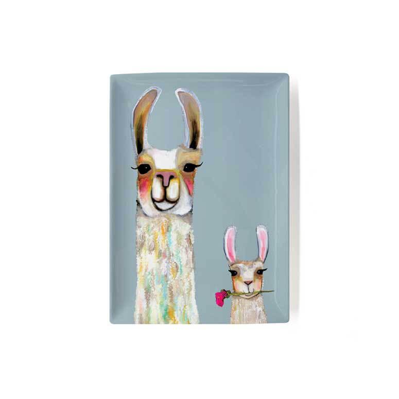 Llama Friends Ceramic Tray