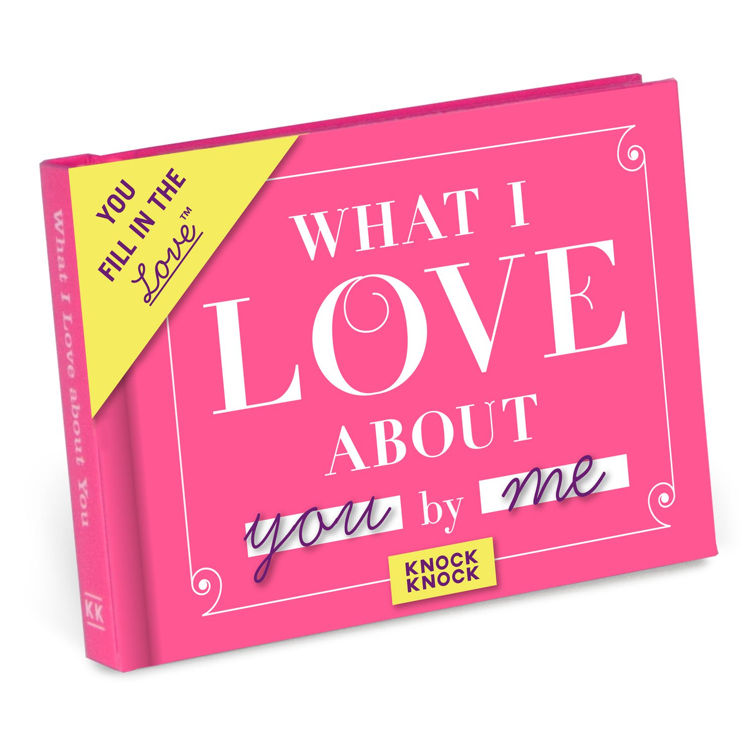 What I Love About You Mini Journal