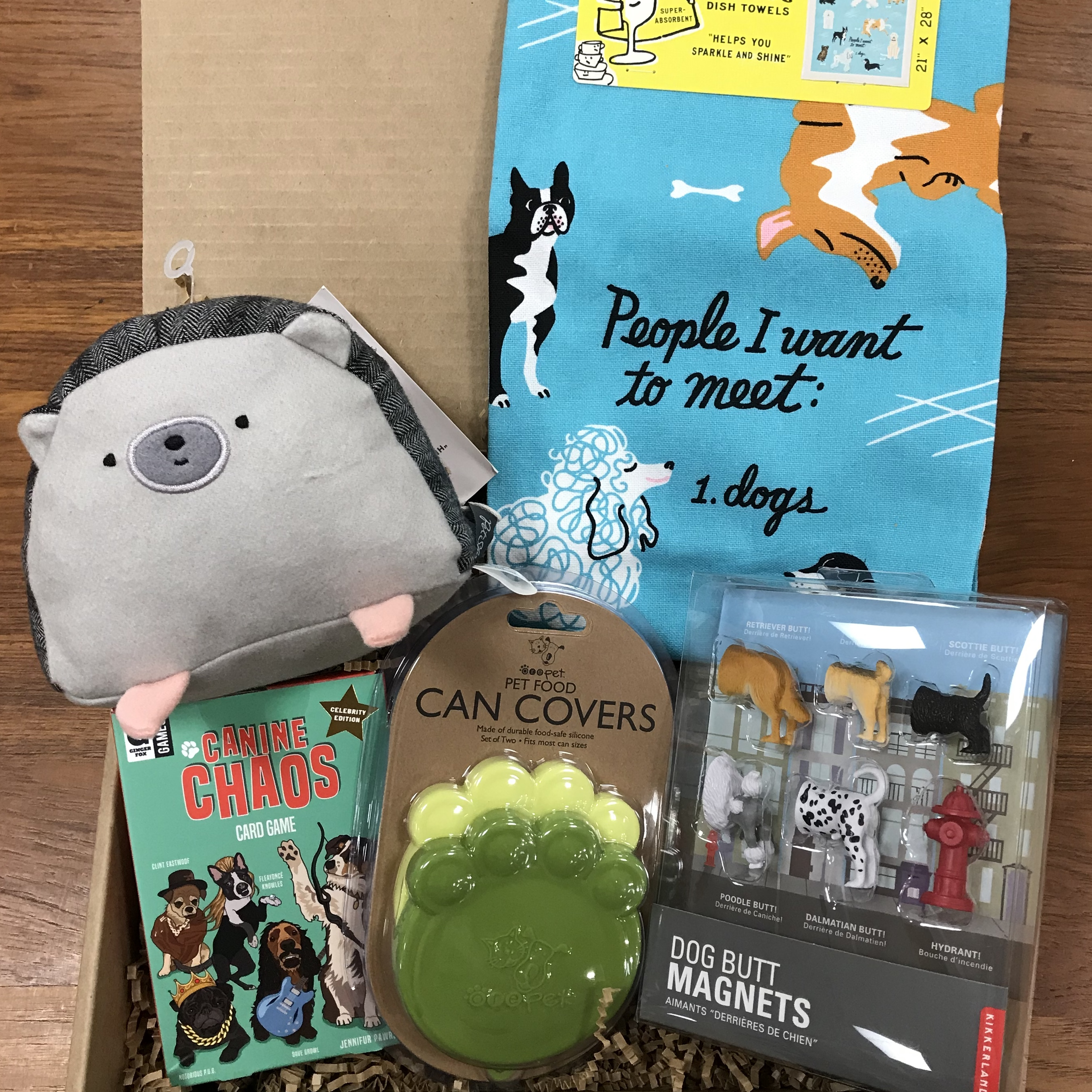 Example of the I love dogs bundle