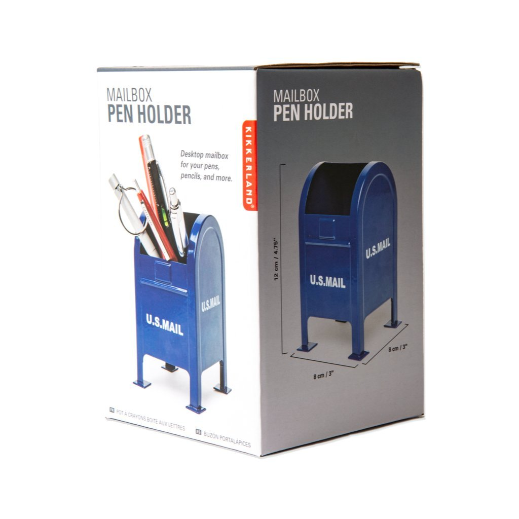 Mailbox Pen Holder comes boxed