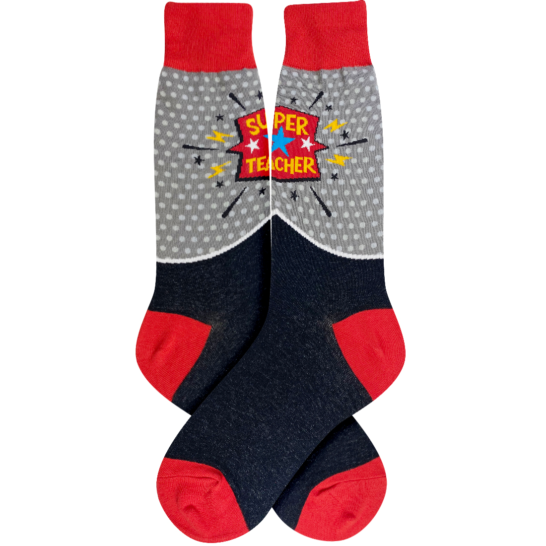 Super Teacher Socks