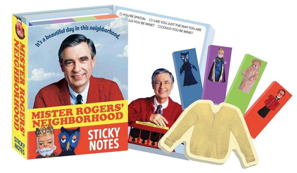 Mister Rogers Sticky Notes