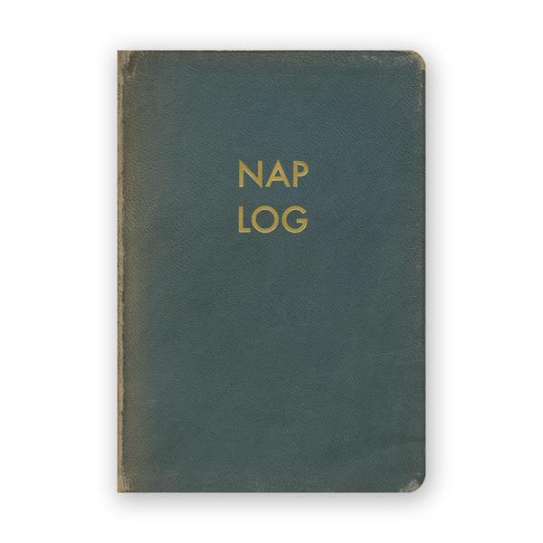 Nap Log Pocket Journal