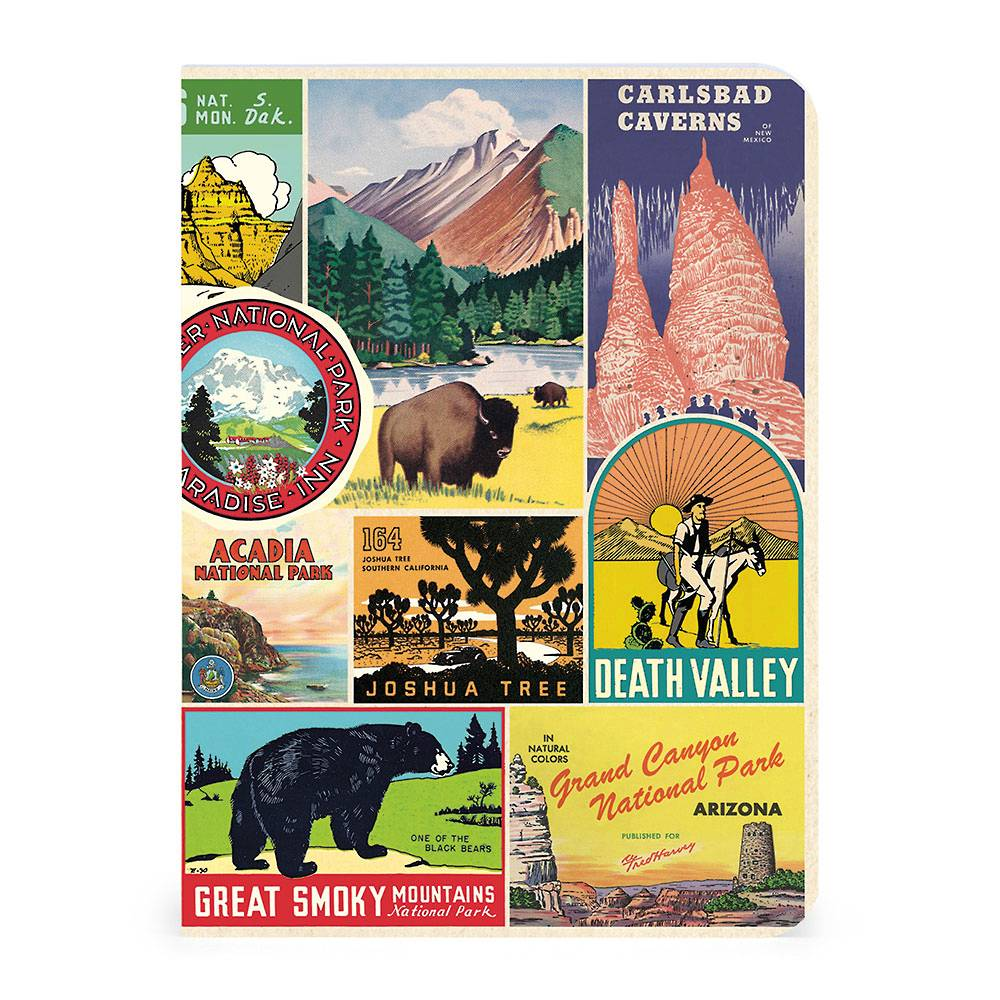 National Park collage cover