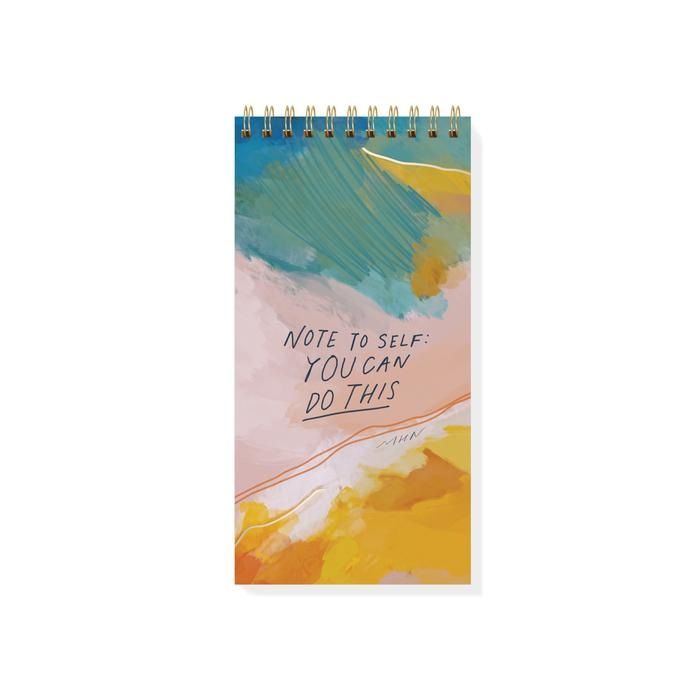 Note To Self: You Can Do This Spiral Notepad
