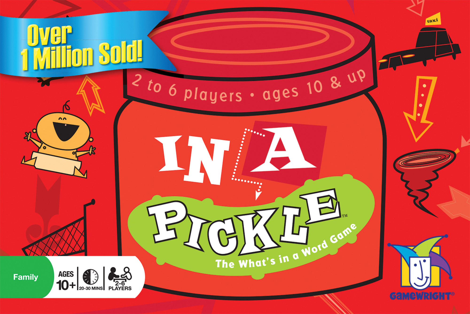 In a Pickle Word Game