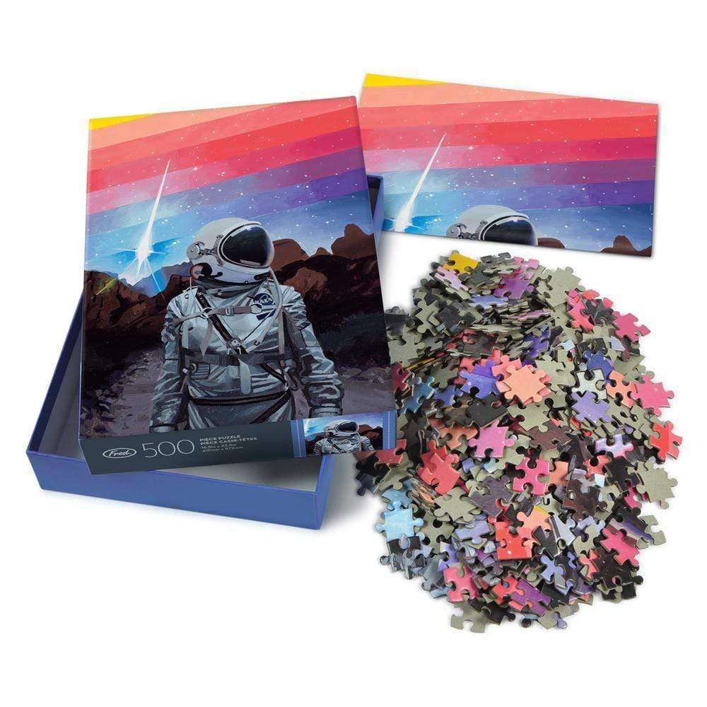 Rainbow One 500 Piece Puzzle with insert