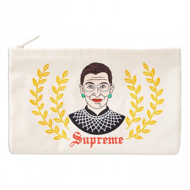 Ruth Supreme RBG Zipper Pouch