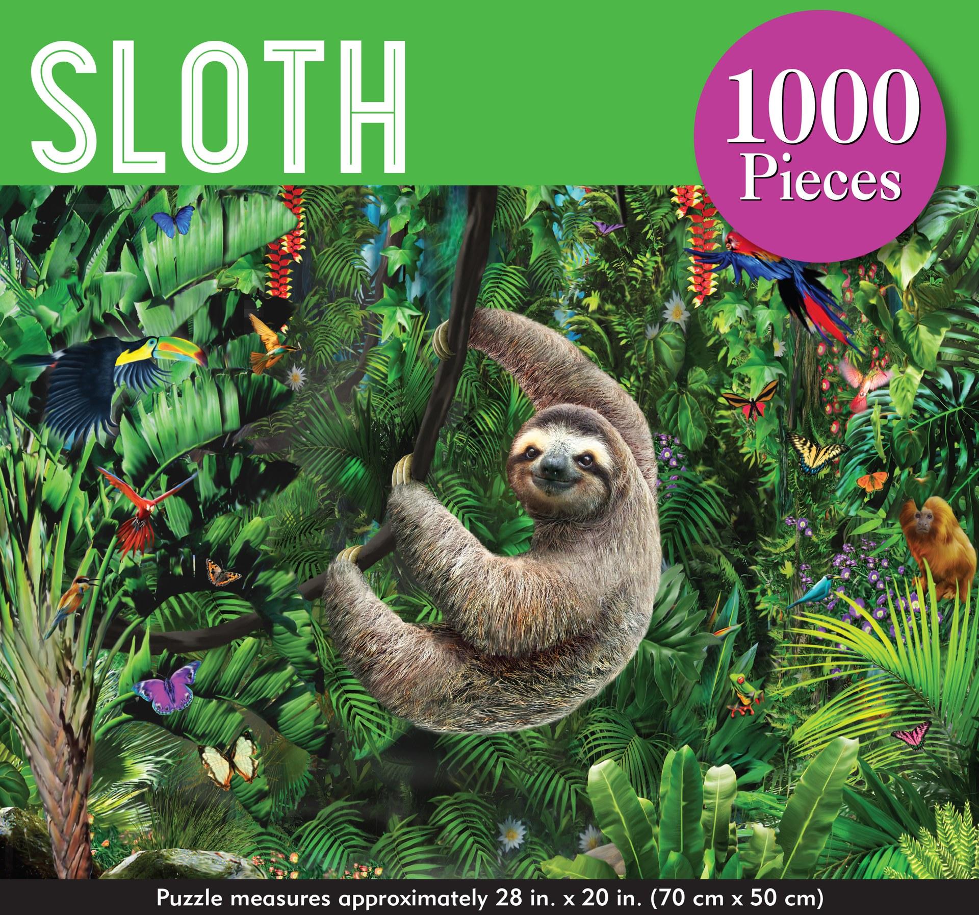 Sloth 1000 Piece Jigsaw Puzzle