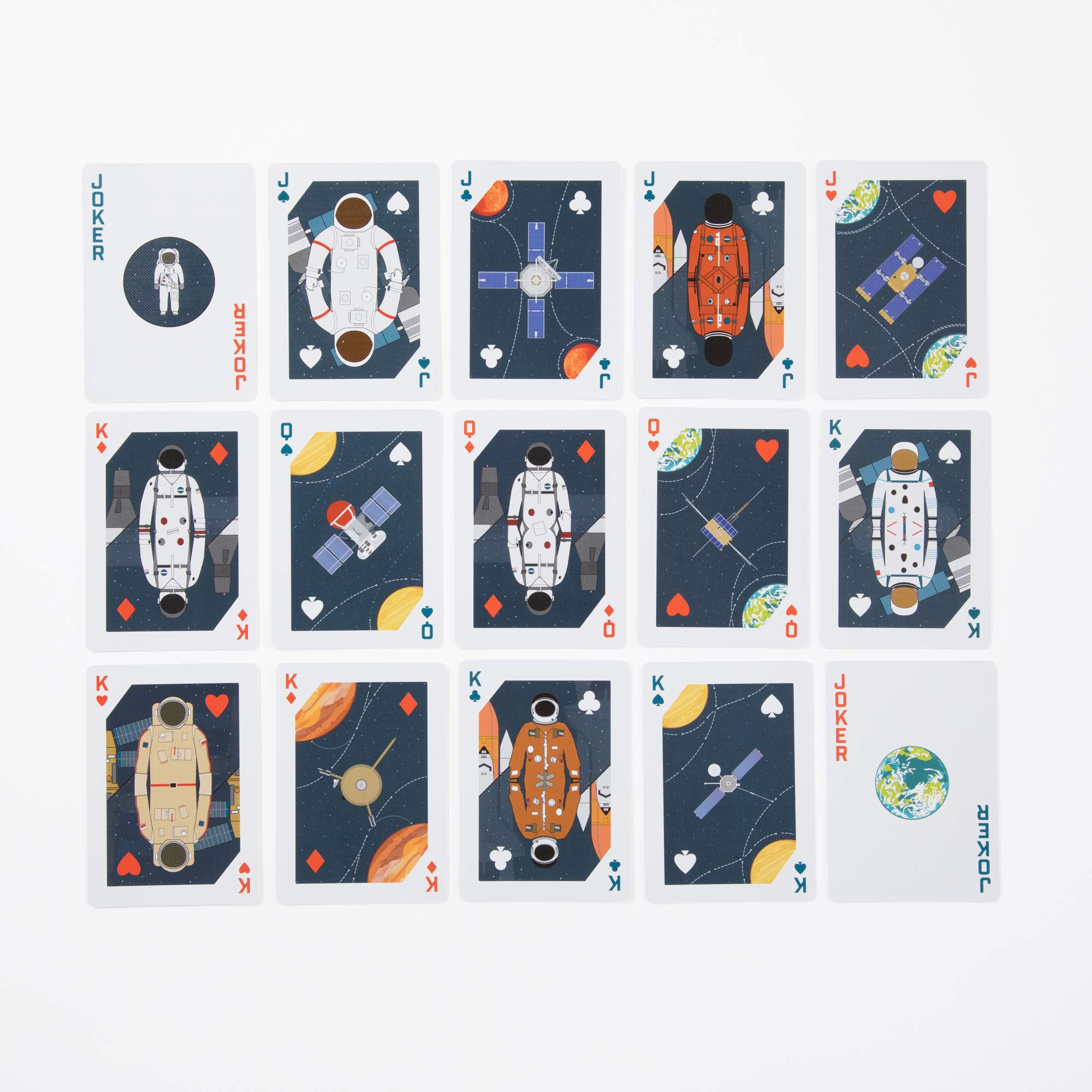 Face cards included