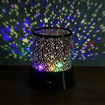 Starry Sky LED Room Light in action