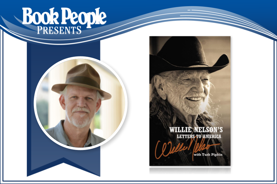 Virtual Event with Turk Pipkin for Willie Nelson's Letters to America