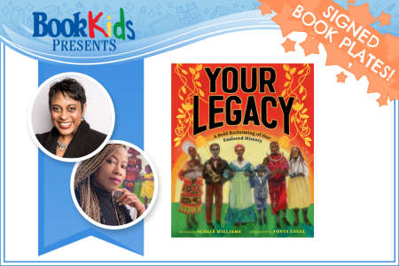 Your Legacy Book Virtual Event Banner Contains Author Photos and Book Cover