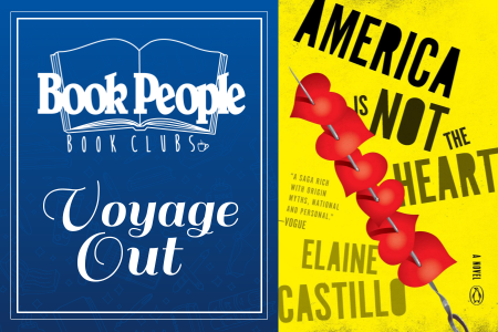 Voyage Out Book Club September Meeting: America Is Not the Heart
