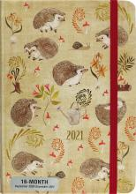 2021 Hedgehogs 16-Month Planner