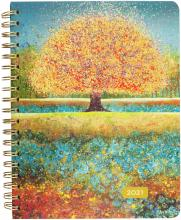 2021 Tree of Dreams 16-Month Spiral Calendar