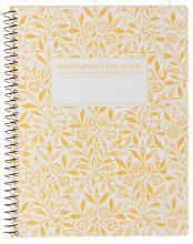 Fields of Plenty Decomposition Spiral Notebook