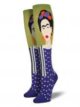 Frida Kahlo knee high socks