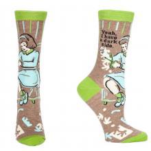 Yeah I Have A Dark Side Socks