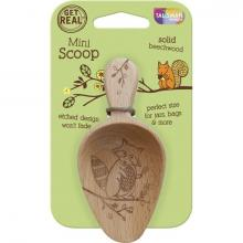 Woodland Raccoon Wooden Mini Scoop