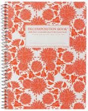 Sunflowers Decomposition Spiral Notebook