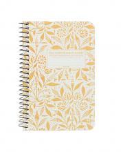 Fields of Plenty Pocket Sized Decomposition Spiral Notebook