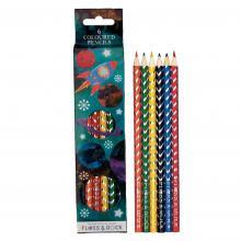 Rocket Coloring Pencils - Set of 6
