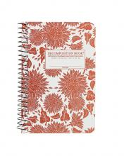 Sunflowers Pocket Sized Decomposition Spiral Notebook