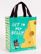 Get In My Belly Blue Q Handy Tote