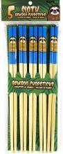 Sloth Bamboo Chopsticks