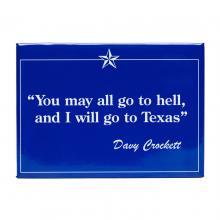Davy Crockett Magnet