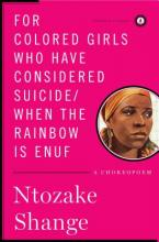 For Colored Girls Who Have Considered Suicide/When the Rainbow is Enuf: A Choreopoem (Sale Copy) Cover Image