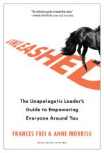 Unleashed: The Unapologetic Leader's Guide to Empowering Everyone Around You Cover