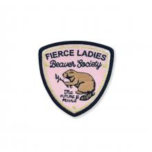 Fierce Ladies Beaver Society Patch