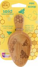 Wooden Honeybee Mini Scoop