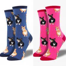 Color Options for Corgi Butt Socks