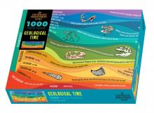 Geological Time 1000 Piece Puzzle in Box