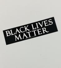 Black Lives Matter Bumper Sticker [Long]