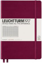 Port Red Squared Medium Leuchtturm